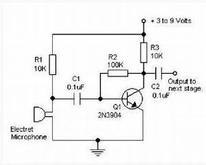 analog how to using a 35 mm stereo plug mic with a With simple microphone preamplifier circuit can use between your microphone