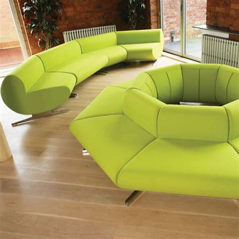 Waiting Area Sofa by O Cee Modular Reception Sofa Convex Seating Waiting