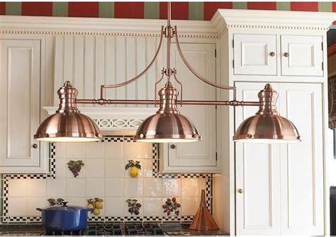 period pendant island chandelier copper farmhouse