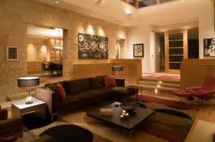 Home Decorating Ideas Living Room Walls Split Level Home Designs For A Clear Distinction Between Functions