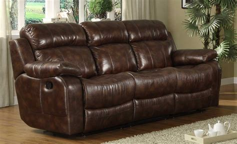 homelegance marille double reclining sofa  center drop