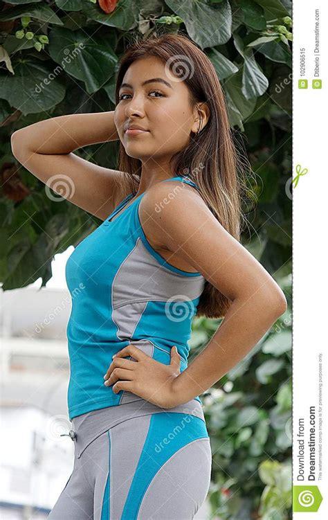 Skinny Cute Female Stock Image Image Of Thin Slim