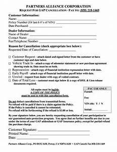 Fillable Online Our fillable cancellation request form ...