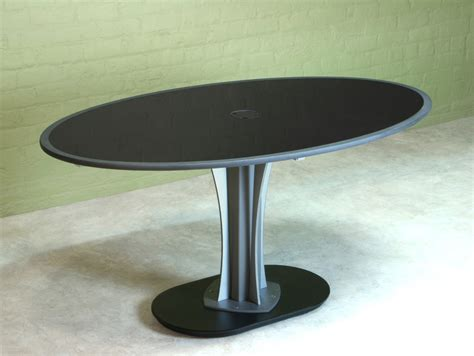 oval table shop granite meeting tables stoneline