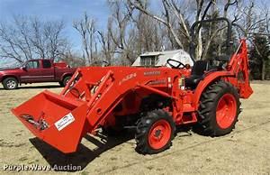 2013 Kubota L3200 Hfwd Tractor