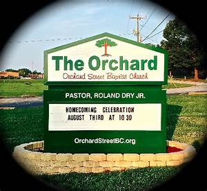the orchard community church orchard street baptist church
