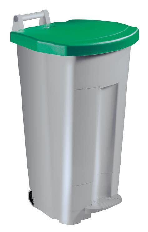 poubelle de cuisine verte poubelle de cuisine rossignol 90 litres haccp couvercle vert