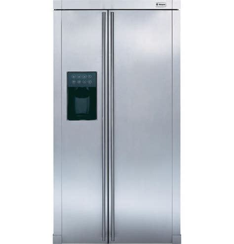 ge monogram  standing side  side refrigerator zfsbdnss ge appliances