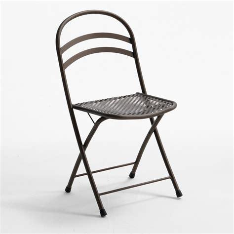 chaise pliante exterieur rig28 pour bars et restaurants chaise en m 233 tal pliante