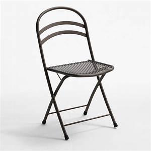 Chaise Pliante Exterieur : rig28 pour bars et restaurants chaise en m tal pliante en diff rentes couleurs pour l ~ Teatrodelosmanantiales.com Idées de Décoration