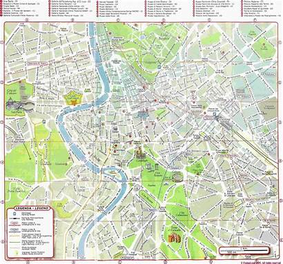 Rome Map Maps Detailed Italy Metro Above