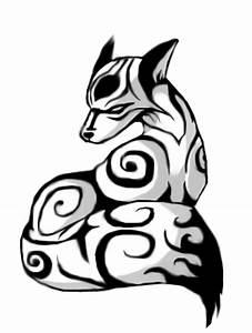 Tribal Fox by JuanIglesias90 on DeviantArt
