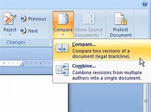 how to compare document versions in word 2007 dummies With compare documents word mac