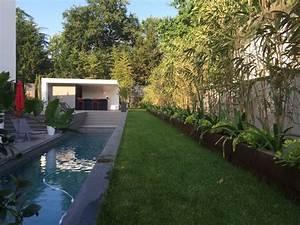 creation d39un jardin paysager avec potager a pessac With superb amenagement terrasse piscine exterieure 0 creation et amenagement de terrasse en bois paysagiste