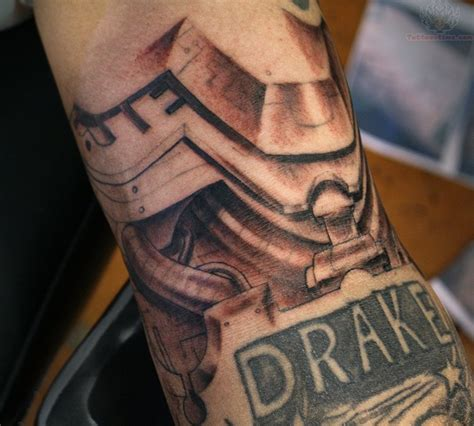 mechanical tattoo images designs