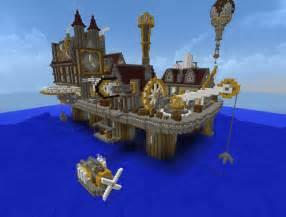Minecraft Steampunk City