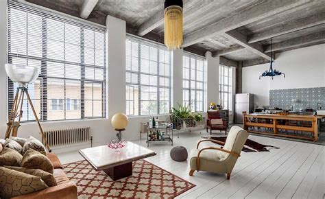 real home  modern loft apartment  london real homes