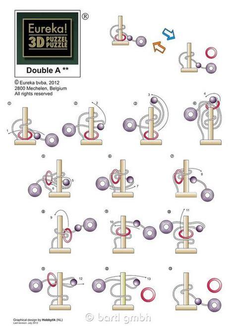 Puzzle Le Anleitung Pastime Puzzle Quot A Puzzle Quot Eureka 473048