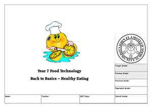 food technology worksheets year 7 year 7 a3 food technology booklet by ebexon87 teaching