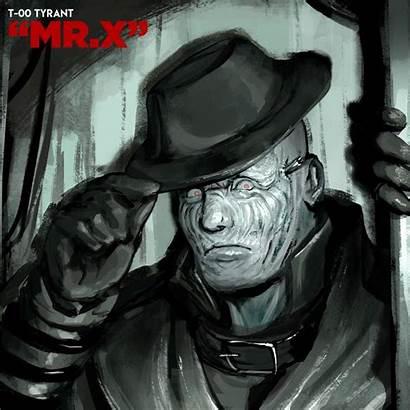 Artstation Mr Evil Resident Tyrant Funny Ruben
