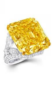 Graff Vivid Yellow Diamond Ring