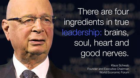 inspirational leadership quotes world economic forum