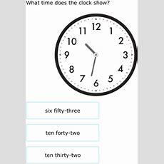Ixl  Match Clocks And Times  3rd Grade Math