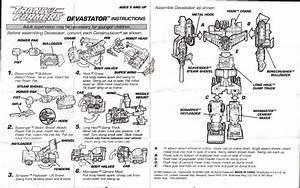 Constructicons  Devastator  G2  Orange  Devastator  Orange