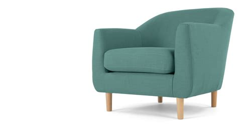 Made Armchairs by Tubby Armchair Soft Teal Made