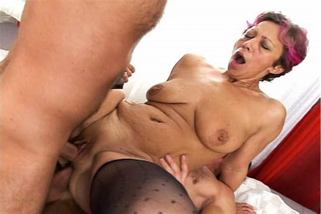 #Grandma #Got #Herself #In #A #Gangbang #With #Dp