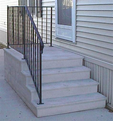 Concrete Porch Steps Home Depot by Small Home Exterior Design Prefabricated Porch Steps