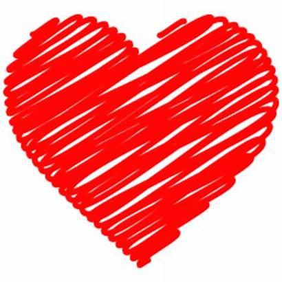 Heart Doodle Scribble Clipart Hartjes Afbeeldingen Plaatjes
