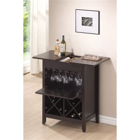 wine and bar cabinet tuscany brown modern dry bar and wine cabinet see white