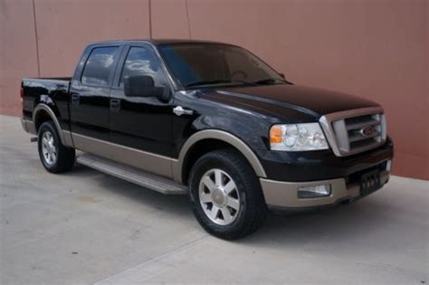 05 Ford F150 by Sell Used 05 Ford F150 King Ranch Crew Cab 1 Owner Carfax