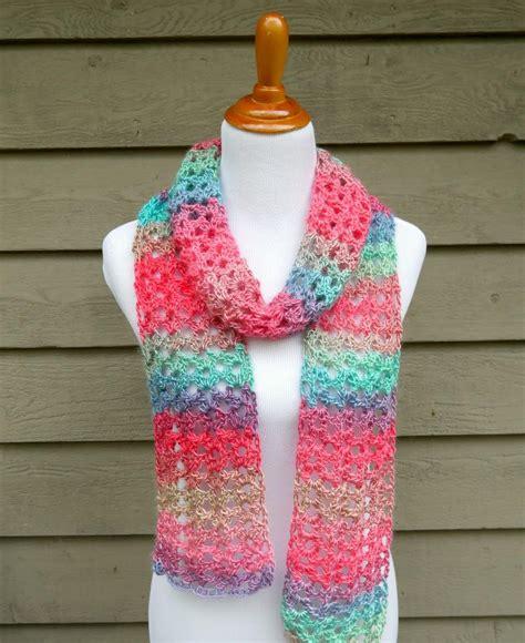 crochet scarfs island lace crochet scarf allfreecrochet com