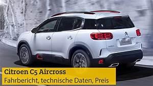 Citroen C5 Aircross  Fahrbericht  Technische Daten  Preis