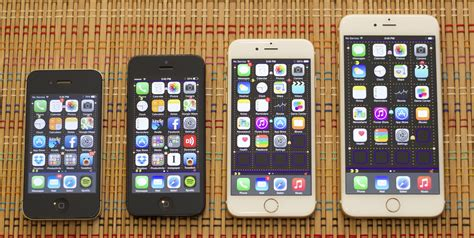 size of iphone 5s iphone 6 and 6 plus in with apple s thinnest phones