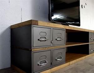 les 25 meilleures idees de la categorie boite metal sur With marvelous photos de meubles de salon 13 bureau www style deco industriel fr
