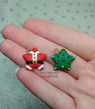 Polymer Clay Christmas Charms.Polymer Clay Charms Ideas For Beginners