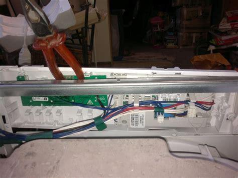 lave linge d 233 montage panneau de commande lave linge whirlpool awod 7454 commentreparer