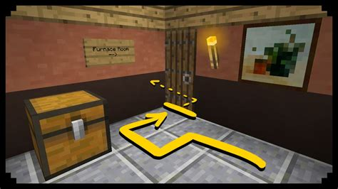 Minecraft How To Make A Secret Passage  Ep10 Youtube