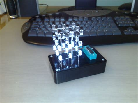 3x3x3 LED Cube - Instructables