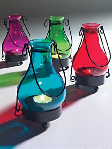 handmade coloured glass indian lantern lanterns home