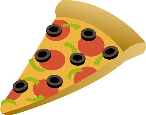 Funny Cartoon Pizza Clipart