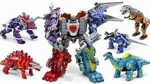 Transformers KO Dinobots Combiner Dinosaur Robots Toys ...  Transformers