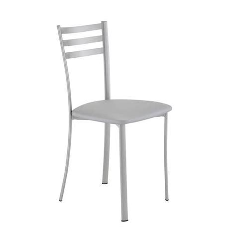 chaises de cuisine grises achat vente chaises de cuisine grises pas cher cdiscount