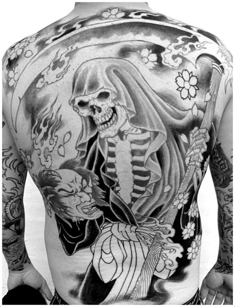 Death Tattoos and Designs  Page 40