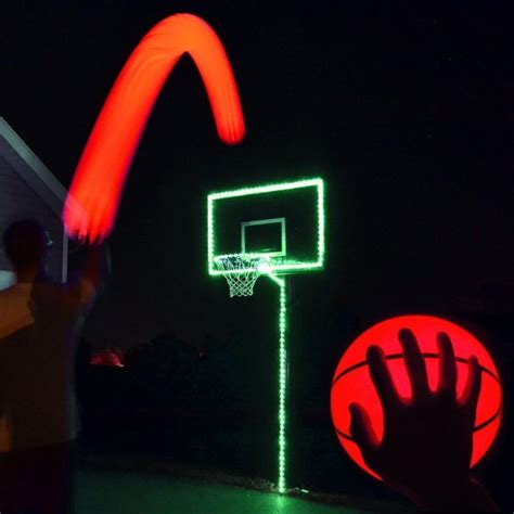 basketball hoop light light up basketball hoop kit with led basketball