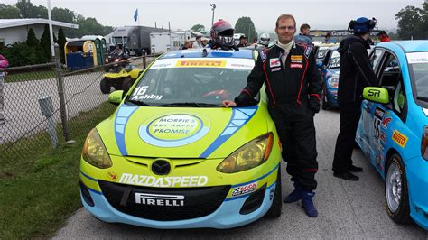 Morrie's Mazda2 B-spec Racer Takes On Road America