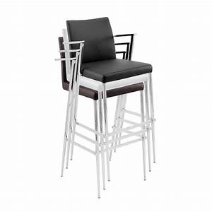 Stackable Bar Stools With Modern Multiple Colors Pair Of